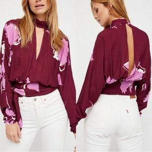 Free People Say You Love Me Keyhole Top